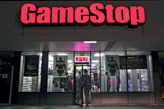 GameStop Store front image