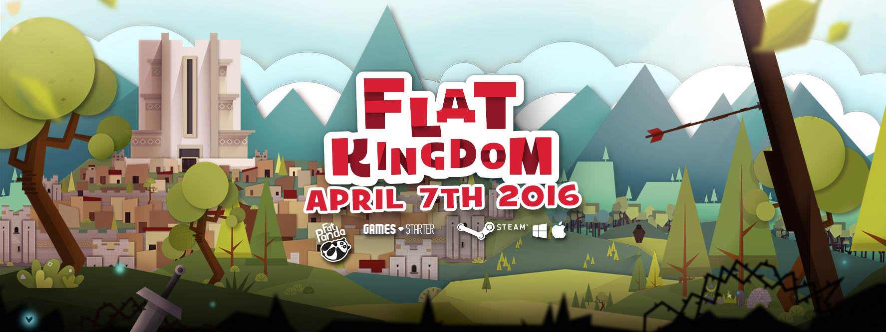 Flat Kingdom launches next week!