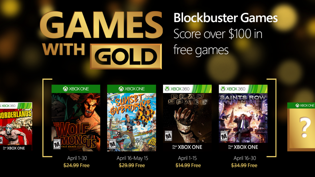 Microsoft-Xbox-Live-Games-With-Gold-April-2016