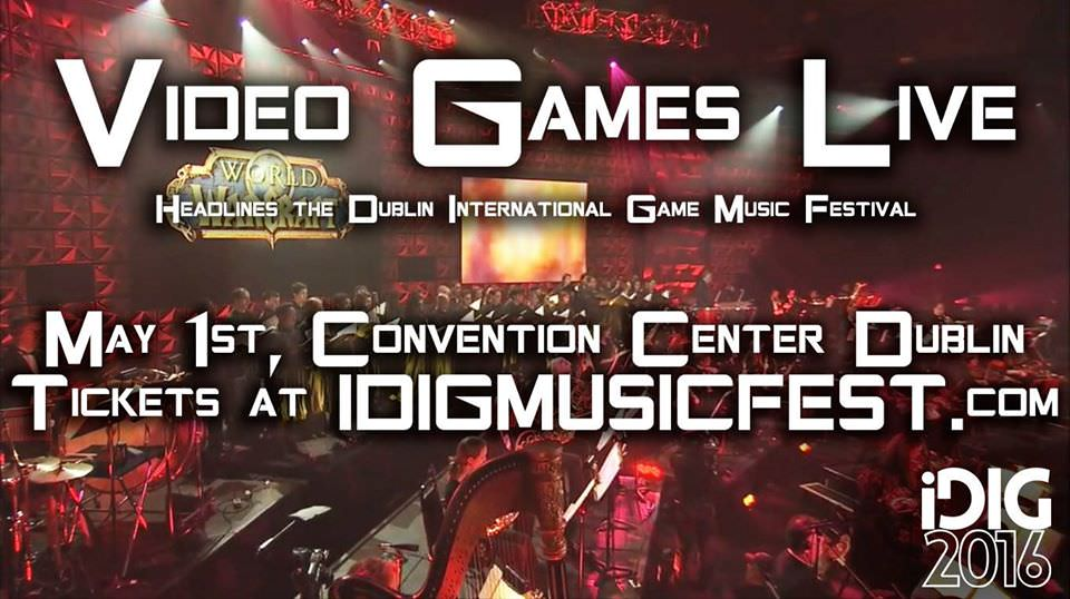 iDig and Video Games Live is just a week away!