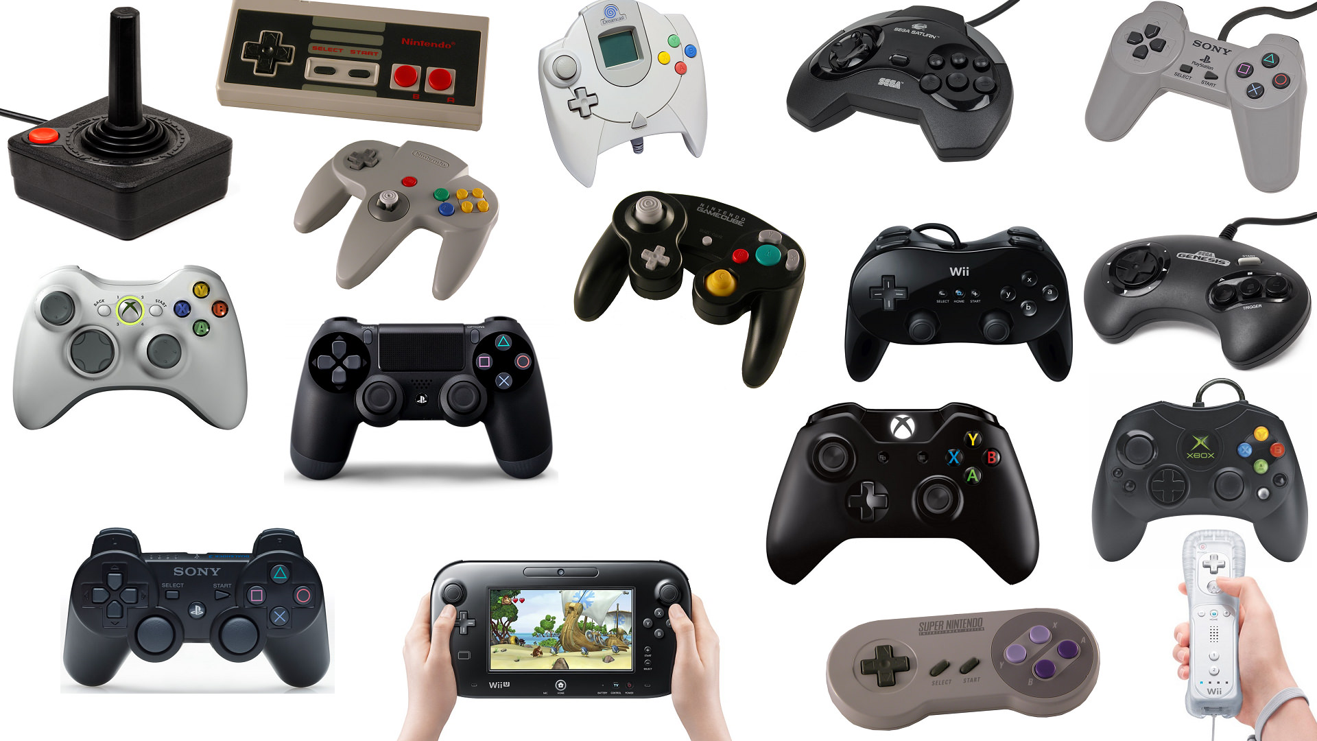 Top 5 Game Controllers of All Time