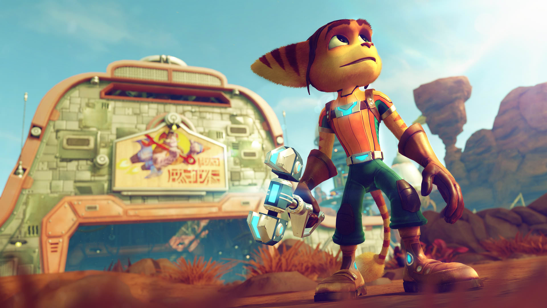 PS4 exclusive Ratchet and Clank takes top spot