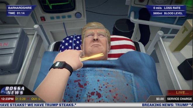 Give Donald Trump a heart with the game that is growing in popularity