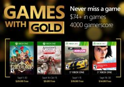 September 2016 Games with Gold lineup revealed for Xbox One, 360