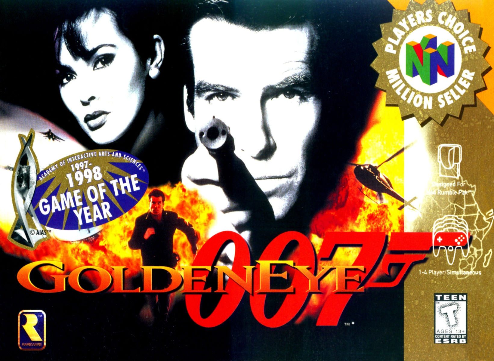 Footage released of cancelled Goldeneye Remaster.