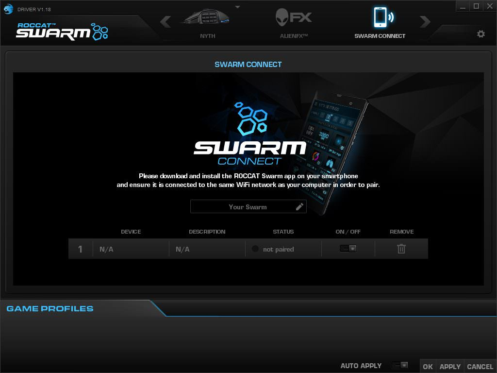 roccat-swarm-connect
