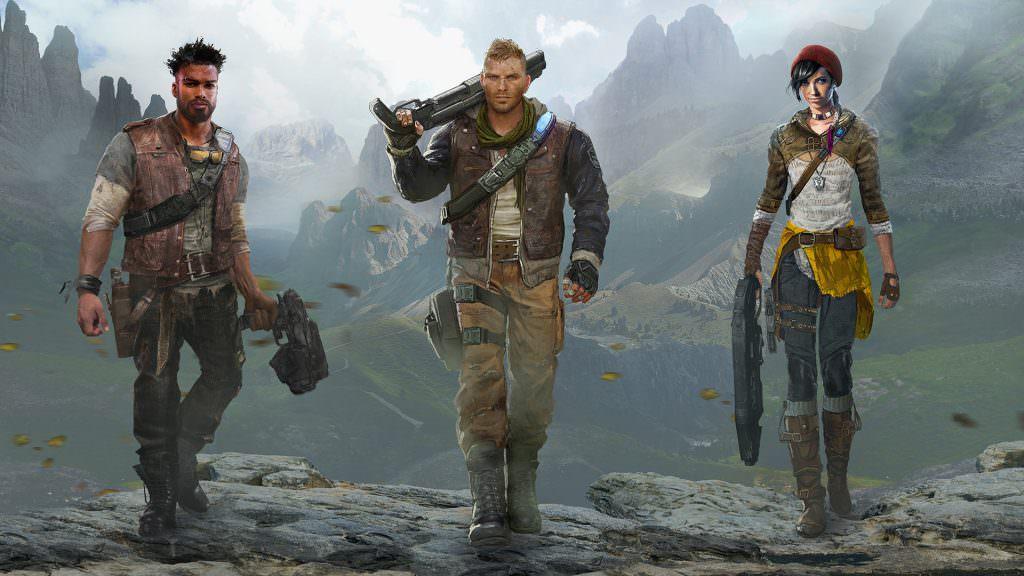 Gears of War 4 - Outsider Heroes