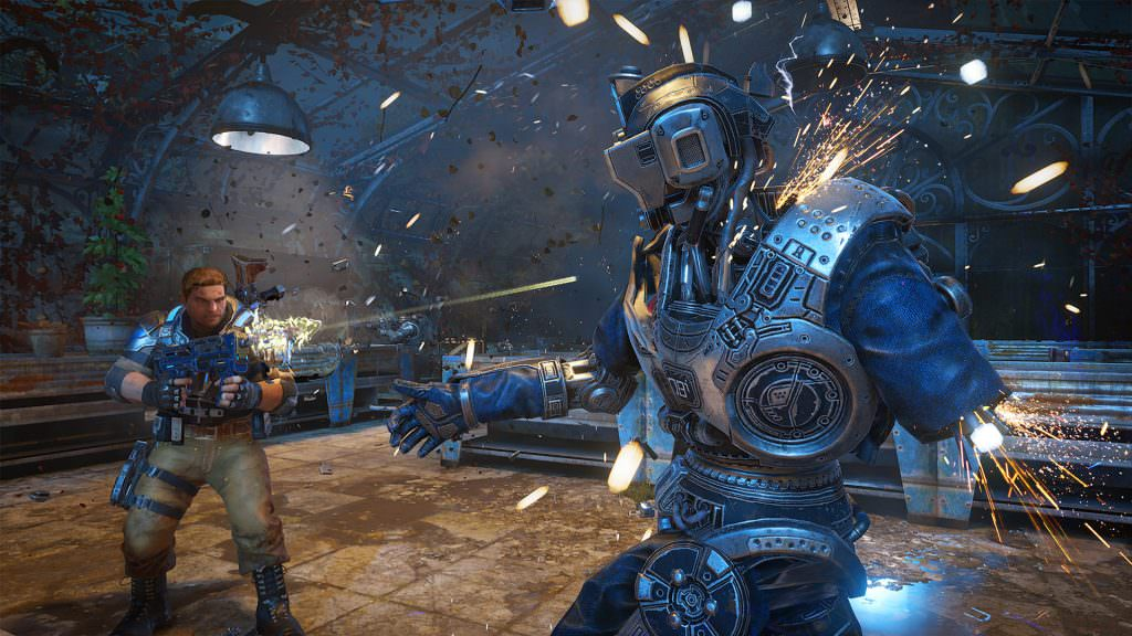Gears of War 4 - Screenshot JD Enforcer