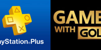 PlayStation Plus & Xbox Games with Gold logos