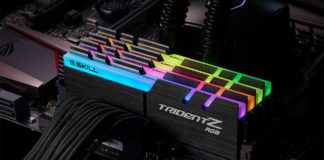G.Skill Trident Z RGB Series DDR4 Memory Kits for Intel Kaby Lake