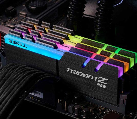 G.Skill Trident Z RGB Series DDR4 Memory Kits for Intel Kaby Lake