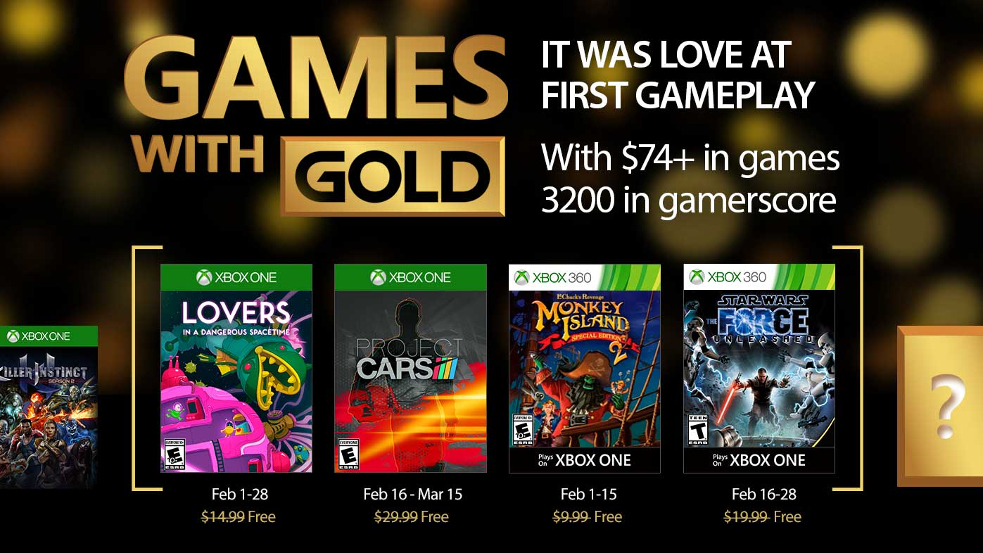 free games with gold february 2016 xbox one