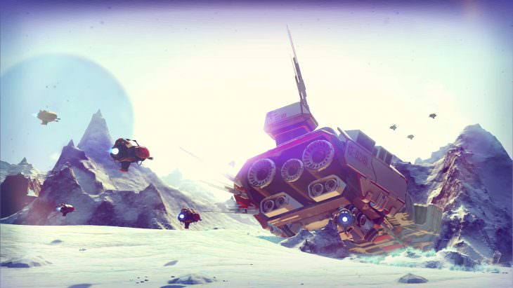 No Man's Sky will be getting Land Vehicles in a future update