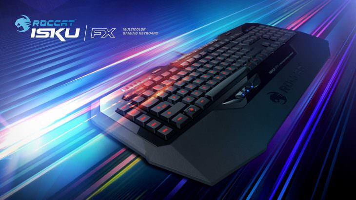 The Roccat Isku+ Force FX will be in stores next week!