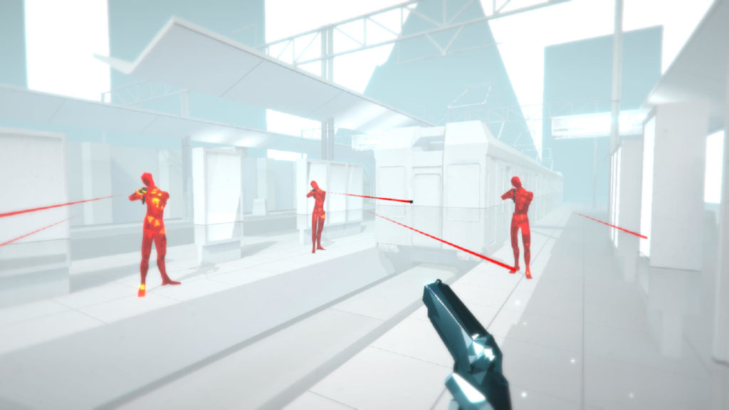 SUPERHOT battle