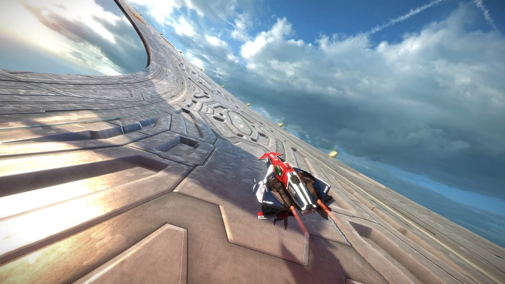 WipEout Omega Collection vista