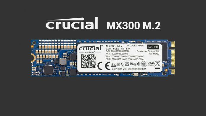 Crucial MX300 M.2