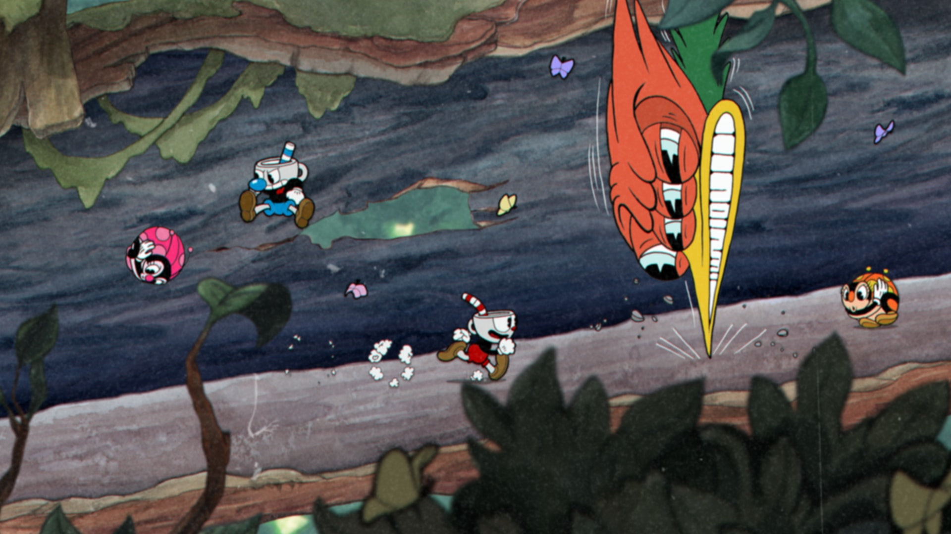 Cuphead forest