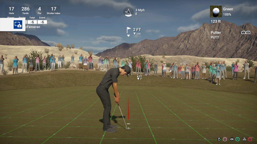 The Golf Club 2 crowd