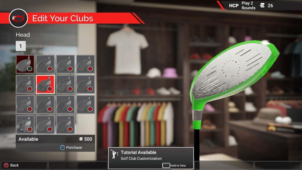 The Golf Club 2 gear