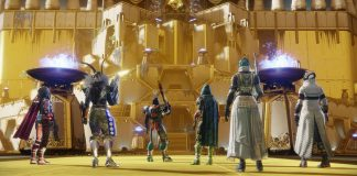 Destiny 2 raid opening.