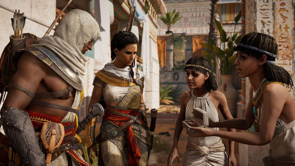 Assassin's Creed Origins - Bayek Aya Interrogate the two sisters