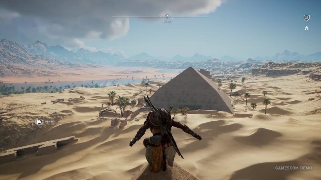 Exploring a Pyramid - Assassin's Creed Origins