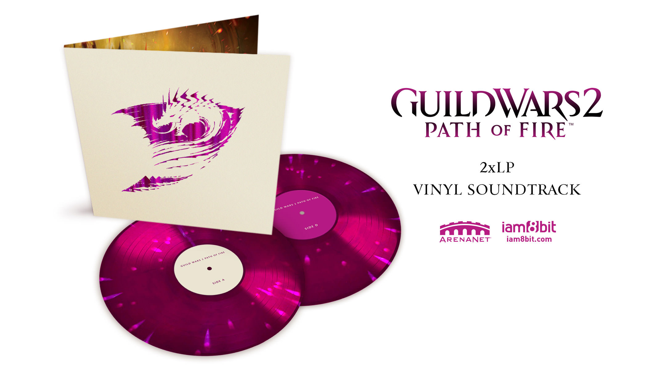 Vinyl Pre-Orders Open for Guild Wars 2: Path of Fire Orchestral Soundtrack
