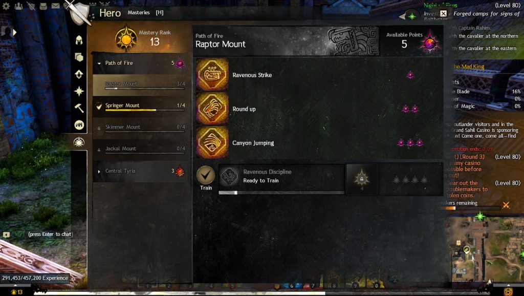 Mount Masteries - Path of Fire