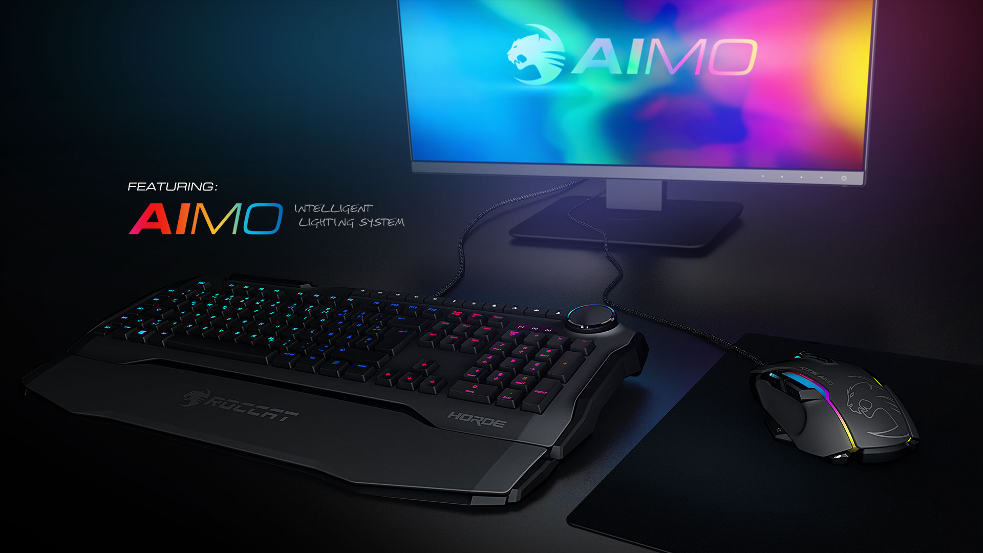 Gamescom 2017: ROCCAT Horde AIMO and Kone AIMO Hands-On