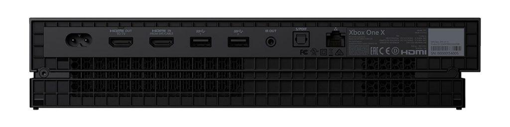 Xbox One X Rear Ports