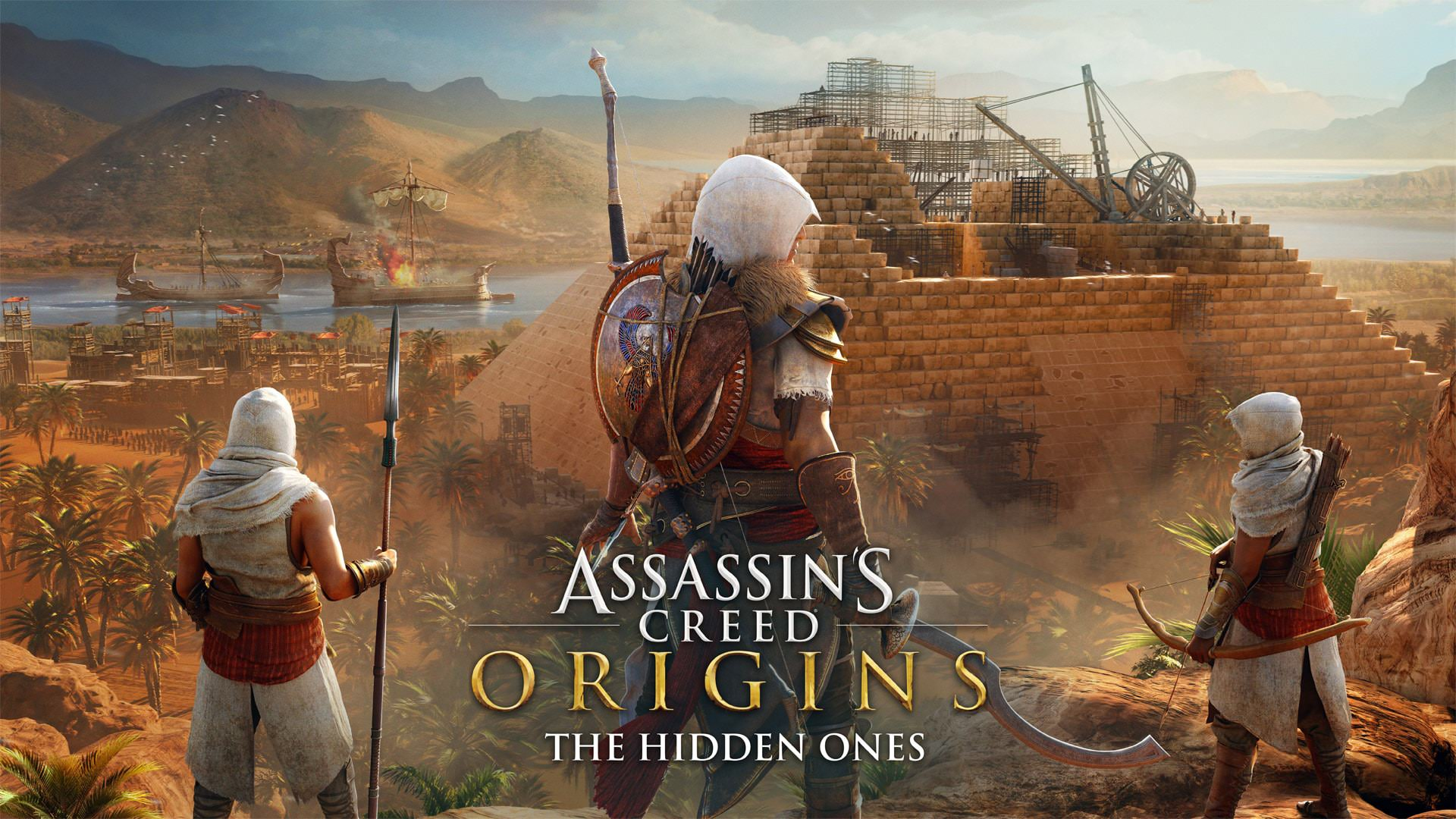 [Trailer] Assassin's Creed: Origins 'The Hidden Ones' launches 23rd Jan.