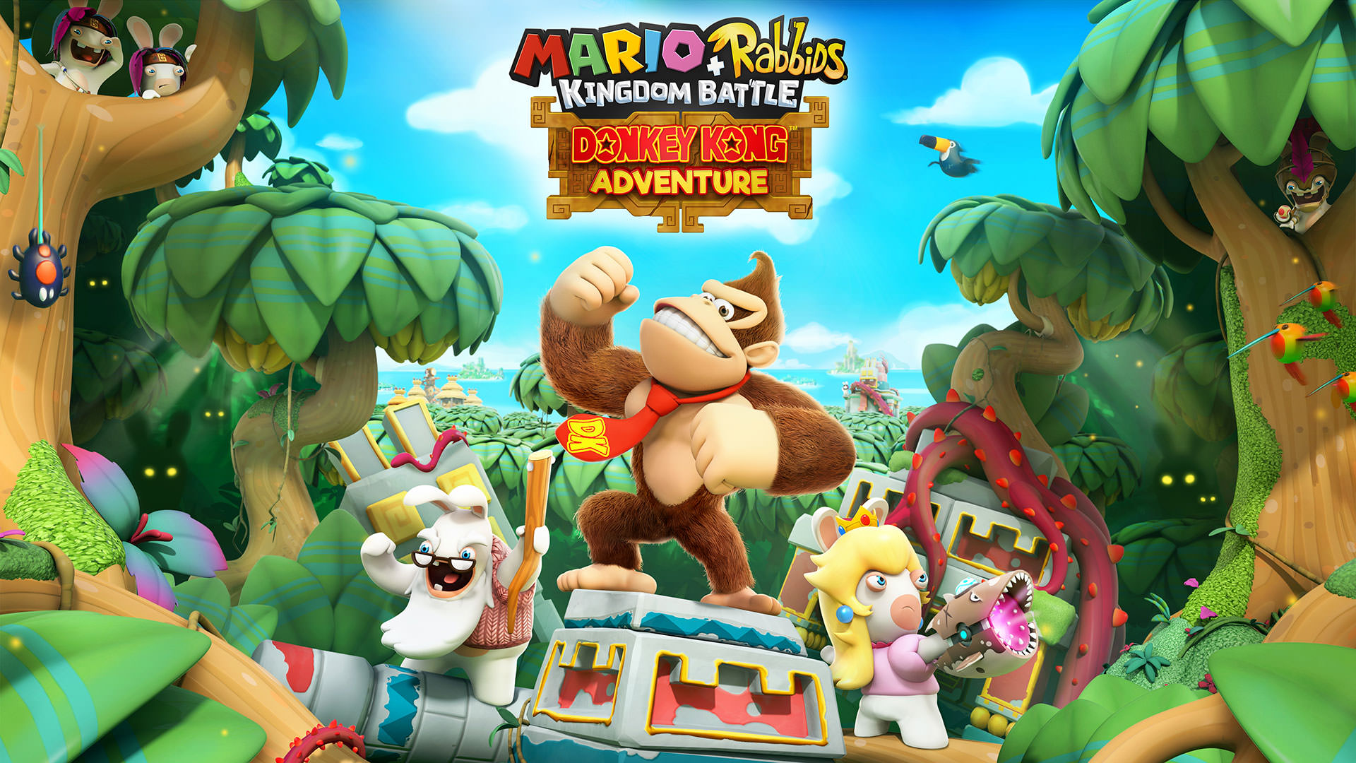 Donkey Kong to Feature in Mario + Rabbids Kingdom Battle DLC