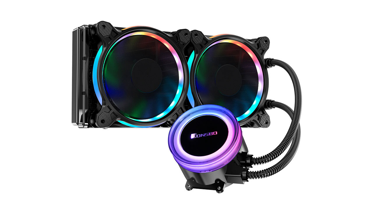 Jonsbo introduces the Angel Eye TW2 series AIO water cooling systems