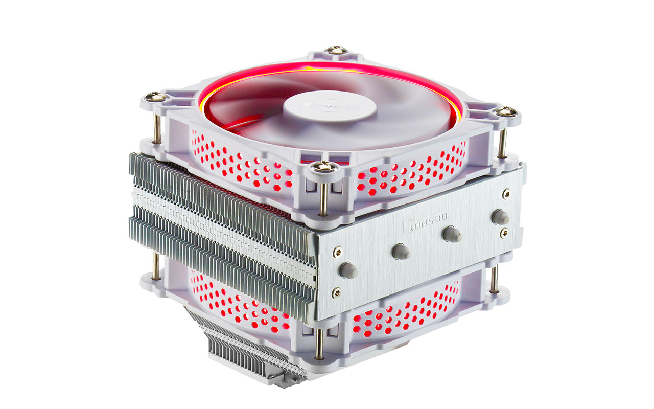 Jonsbo introduces the CR-301 White Edition CPU cooler