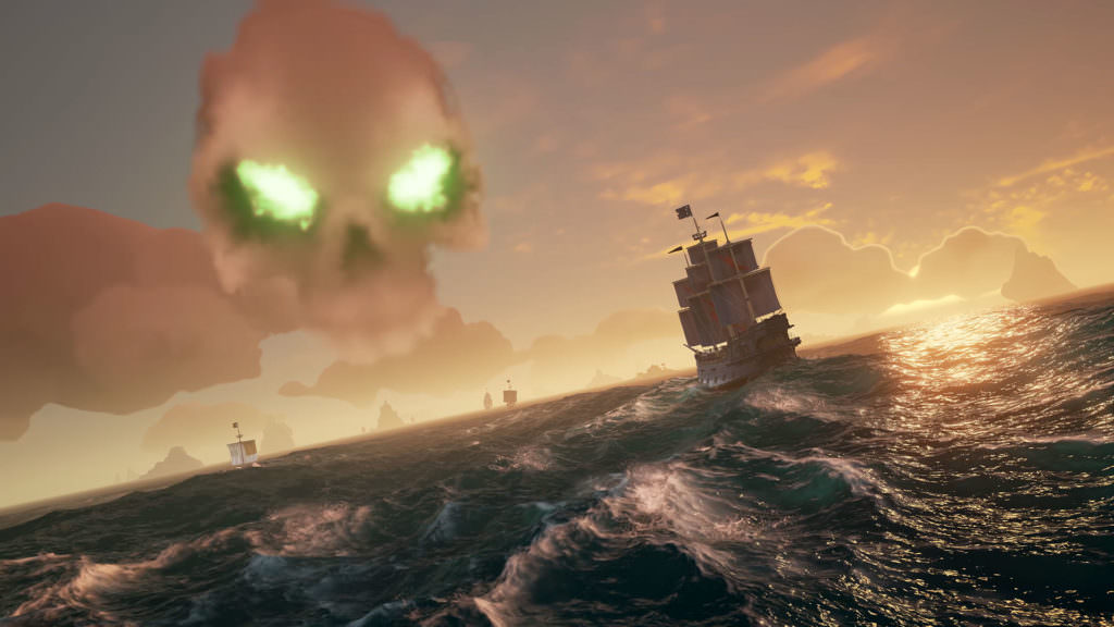 The world of Sea of Thieves is full of breathtaking scenery