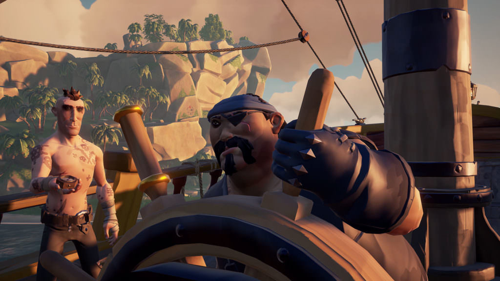 Sea of Thieves Players Need to Work Together to Steer the Ship