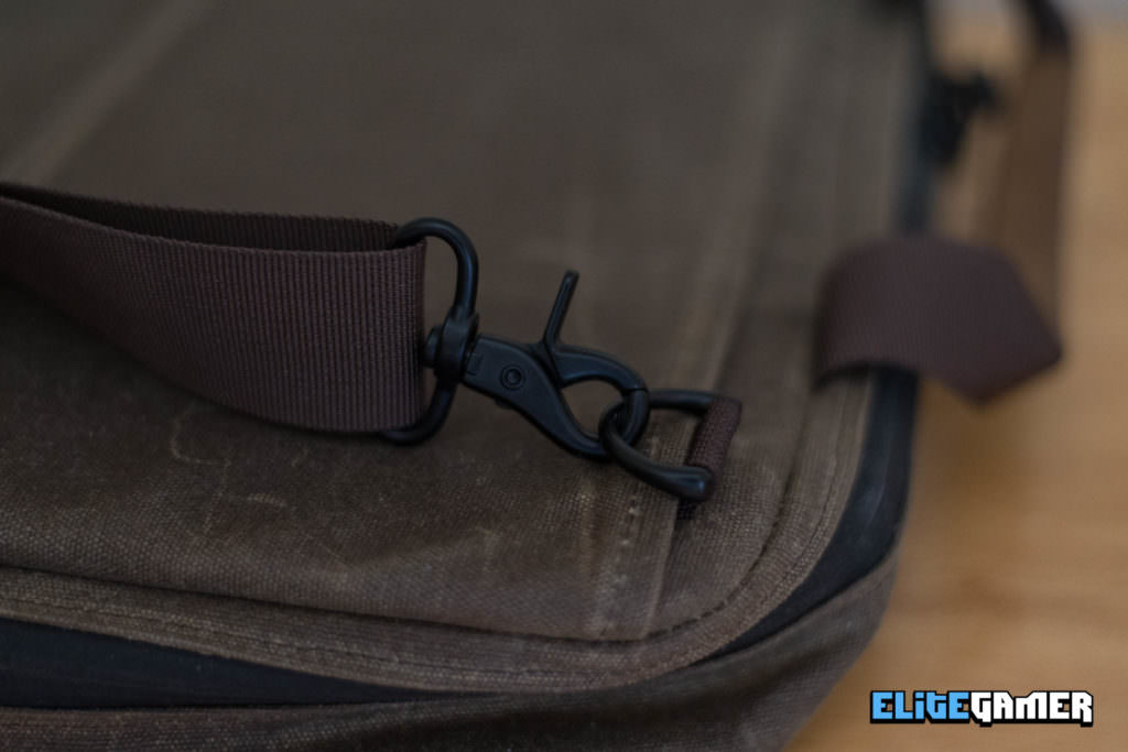 Waterfield Designs Zip Laptop Brief High-Quality Durable Clips