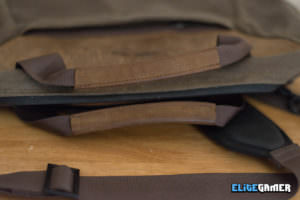 Waterfield Designs Zip Laptop Brief Durable Leather Handles
