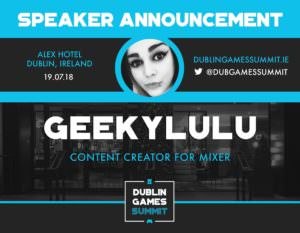 GeekyLULU - Content Creator for Mixer