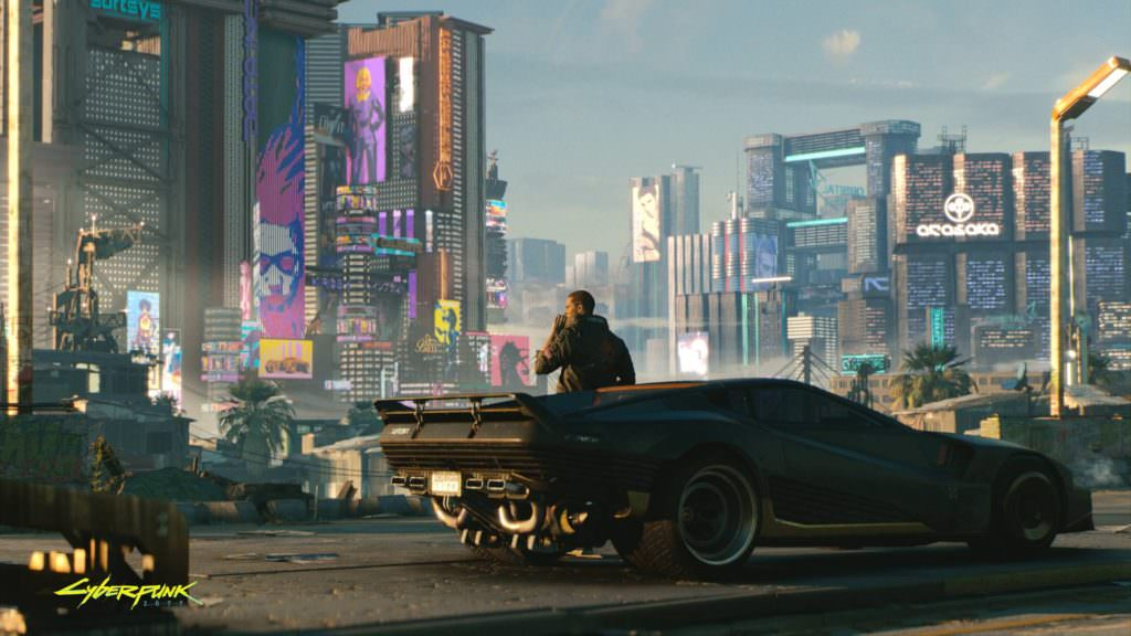 "Cyberpunk 2077 definitely has that ""Blade Runner"" feel to it!"